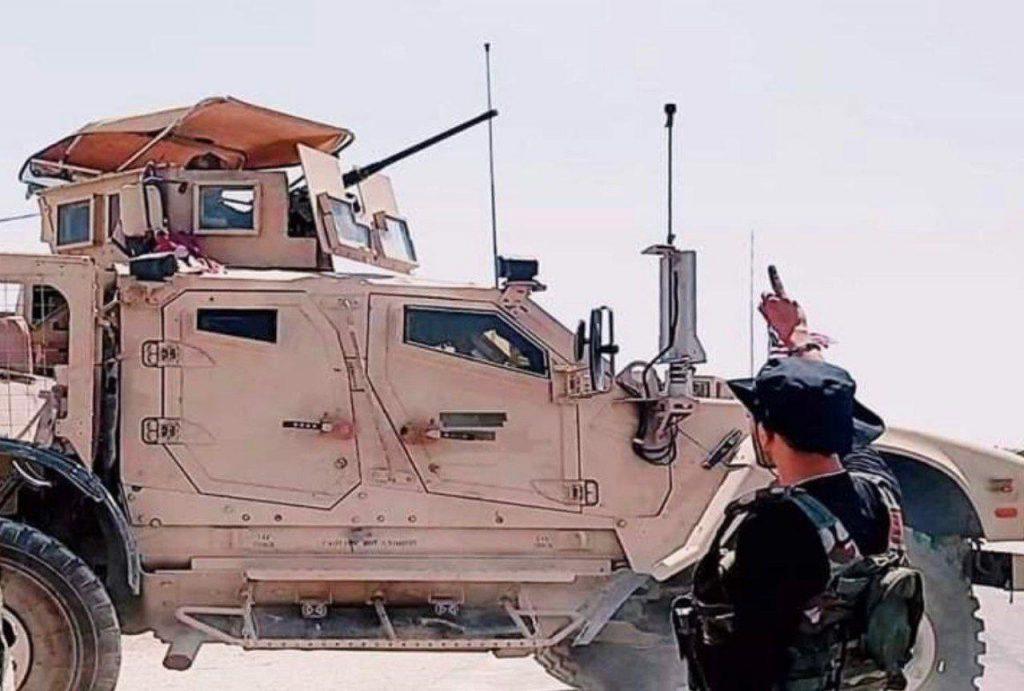 In Photos: Syrian Troops Blocked US Military Convoy Near Al-Dardara