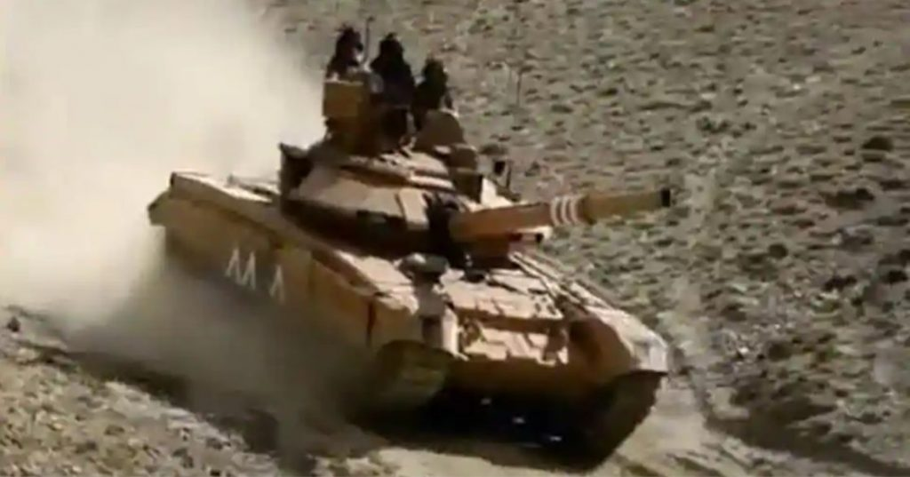 "India Sends Tanks Along Border To Prevent China ""Redefining"" Line Of Actual Control"