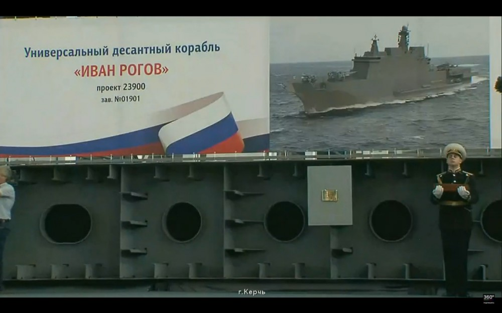 Russia Lays 6 New Warships And Submarines On The Same Day