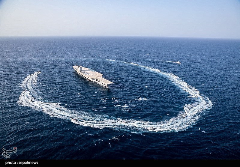 IRGC Simulates Attack On US Aircraft Carrier In Large-Scale Drills In Persian Gulf (Videos, Photos)