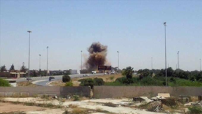 Haftar's Forces Claim Responsibility For Airstrikes On Turkish Positions At Al-Watiya Airbase