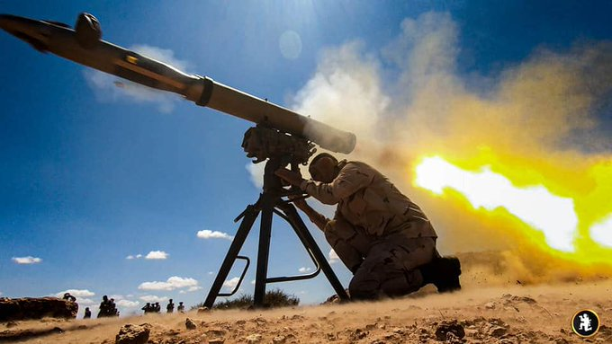 Haftar's Forces Deploy Missile Defense System To Sirte, Carry Out Missile Tests