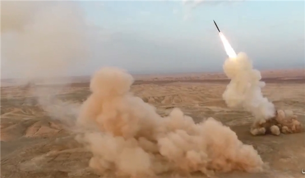 Iran's IRGC Successfully Test-Launched Ballistic Missile From Underground