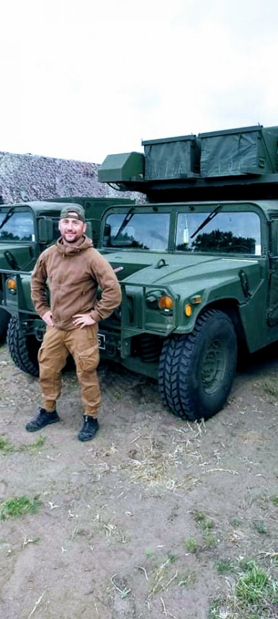 More Photos From Estonian Mercenary Killed In Eastern Ukraine: Not A Civilian, But A Combat Medic