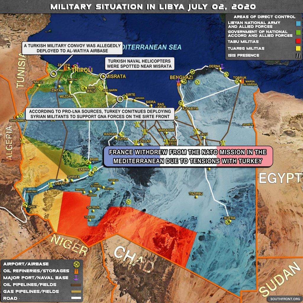Military Situation In Libya On July 2, 2020 (Map Update)