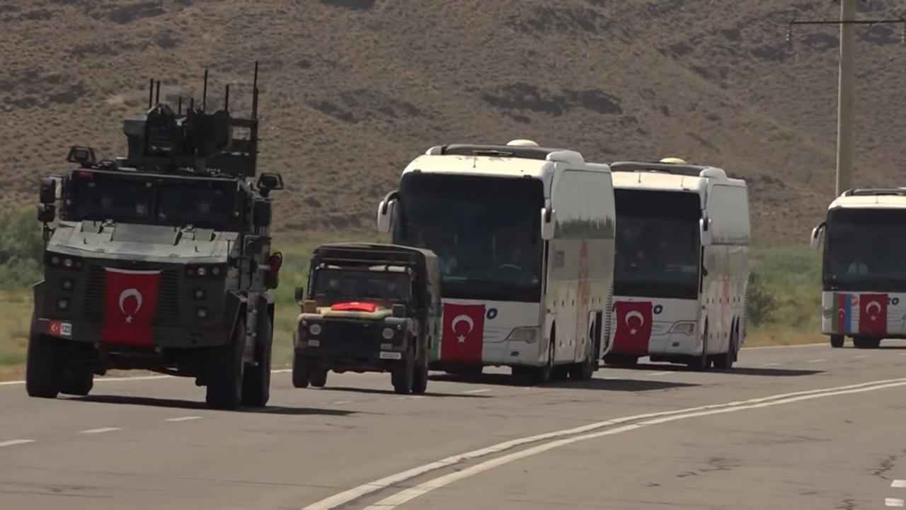 Turkish Forces Deploy In Azerbaijan To Participate In Joint Military Drills Amid Tensions With Armenia (Photos)