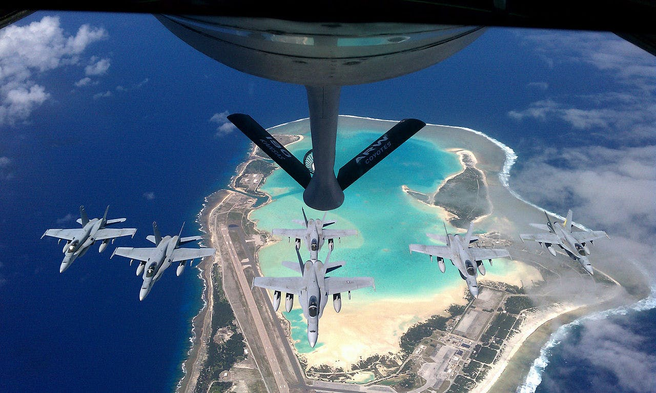 U.S. Expands Mid-Pacific Wake Island Airbase For Future Hostilities With China