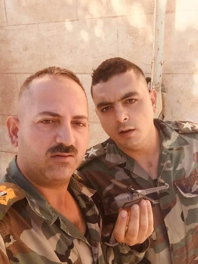 Syrian Arab Army Captured Small Black Hornet 3 Spy Drone In Northeastern Syria