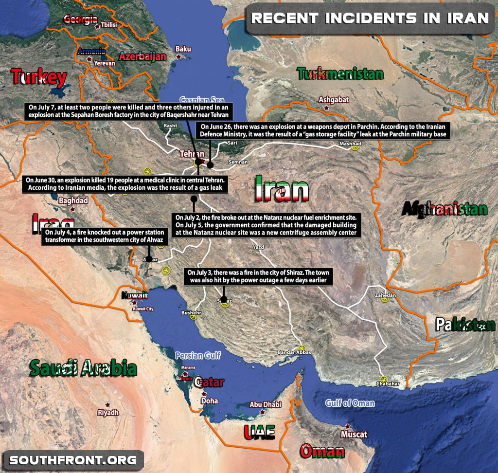 Iranian Officials Dismissed Reports Of New Explosion In Tehran