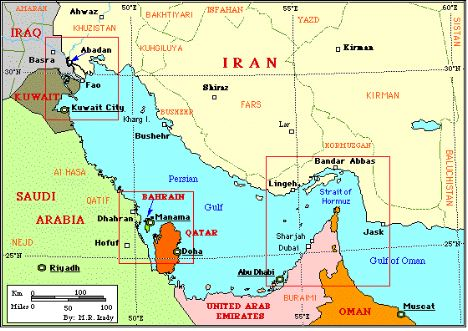 Iran Built Extensive Underground Missile Complexes Along Its Southern Coast