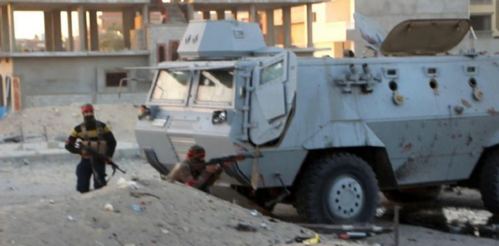 Egypt Army Kills 18 ISIS Militants While Repelling Large-Scale Attack In North Sinai