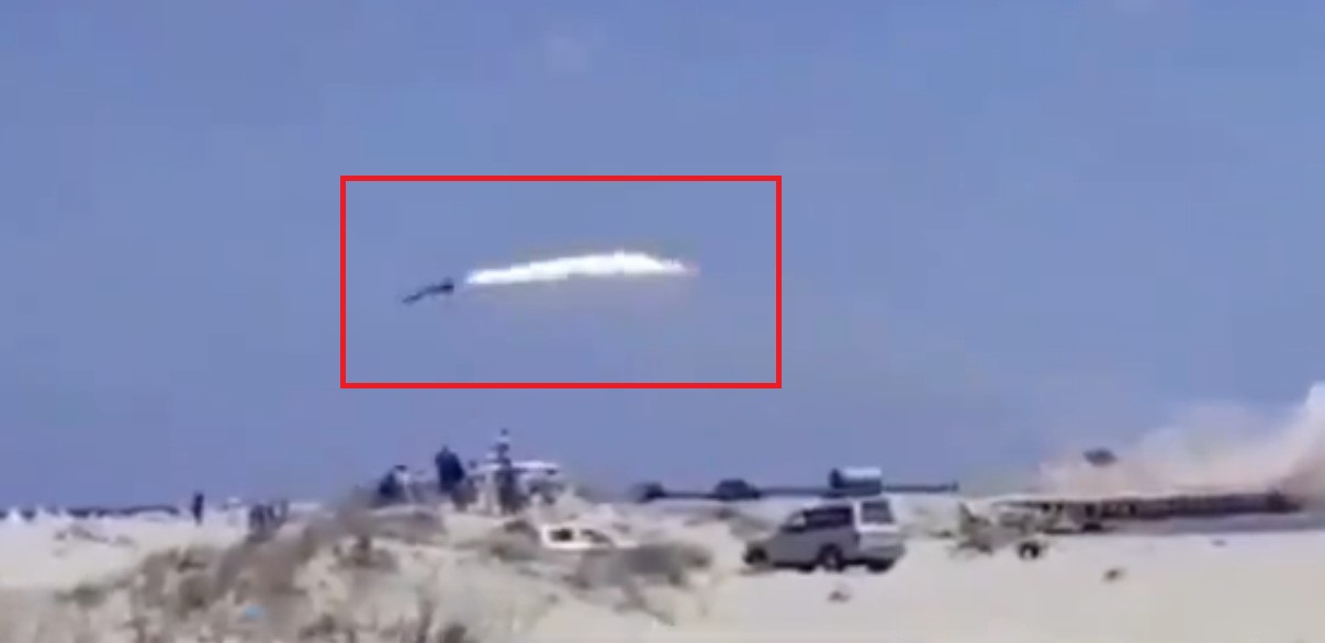 Video Of Failed LNA Test-Launch Of Anti-Ship Missile Appears Online
