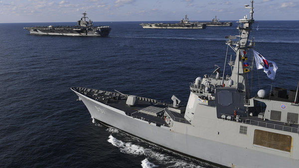 US Aircraft Carrier Theodore Roosevelt Ends Troubled Six Month Deployment In The Pacific
