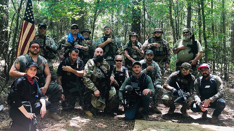 Leader Of Ultra-Right Militia Predicts End Of US And Warns Of Civil War