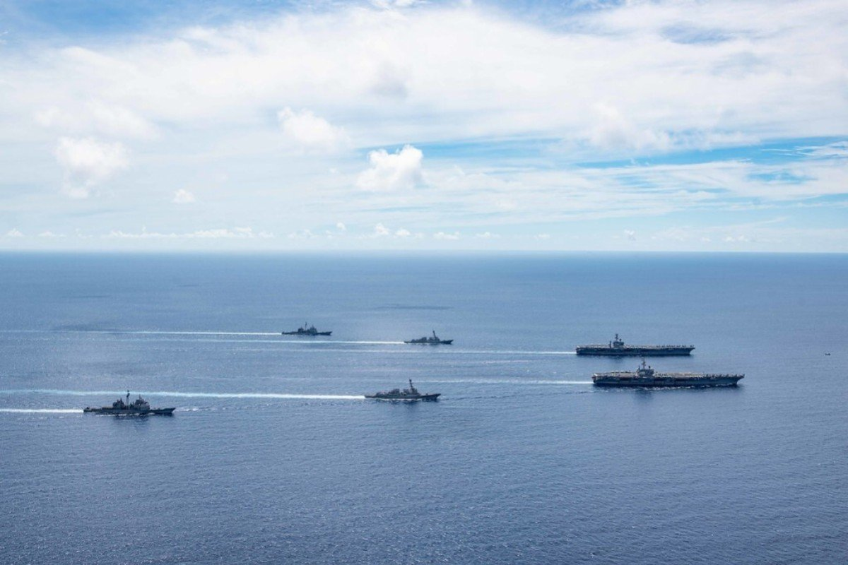 US Armed Forces Continue To Test China's Patience, Prowling Around Disputed Maritime Borders