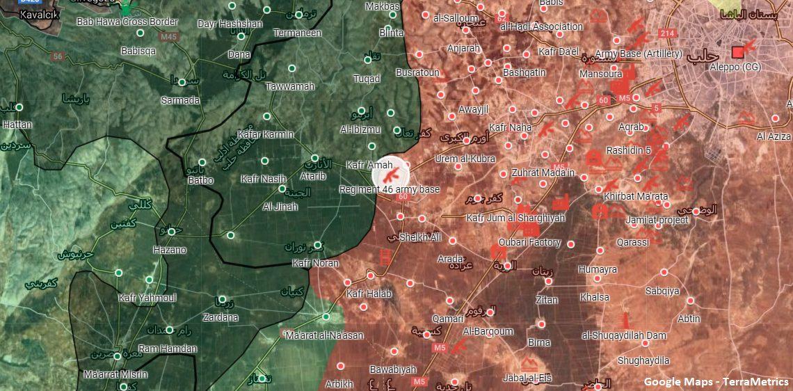 Syrian Army Destroyed Bulldozer, Killed Militant In Western Aleppo