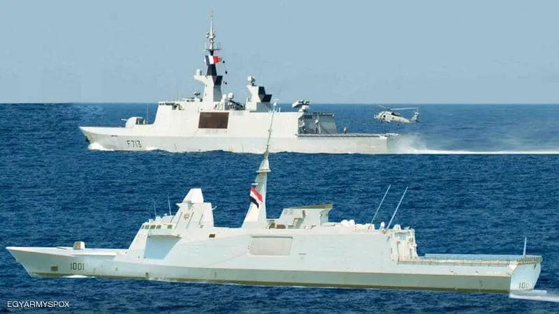Egypt and France Carry Out Naval Drill As Show Of Force To Turkey