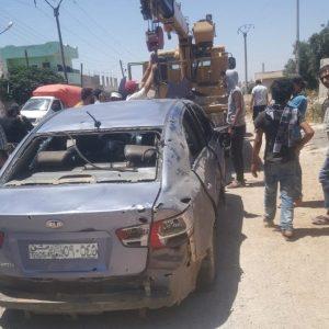 Brutal Bombing Kill, Injure Family In Syria's Daraa (Photos)