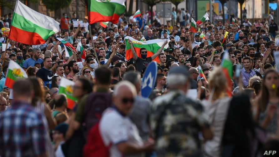"Tens Of Thousands Protest In Bulgaria Against Corruption, As EU Liberal Leader Calls Them ""Extremists"""