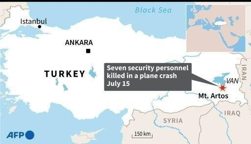 Turkish Reconnaissance Plane Crashed Not Far From Iraqi Border, All 7 On Board Dead