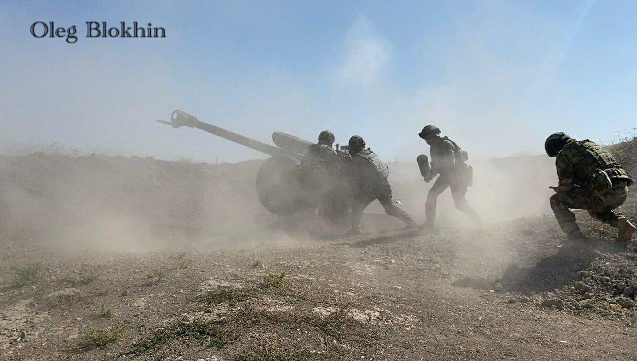 In Photos: Russian SOF Shelled Militant Positions In Syria's Greater Idlib With Artillery