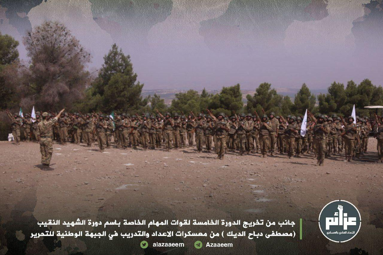 In Photos: New Batch Of Turkish-Backed Militants Completed Training In Syria's Greater Idlib