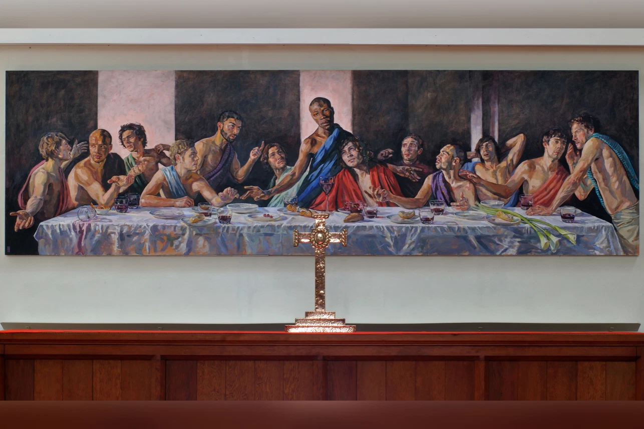 Last Supper With Jesus Based On Jamaican Model To Replace Nativity Scene At St Albans Cathedral