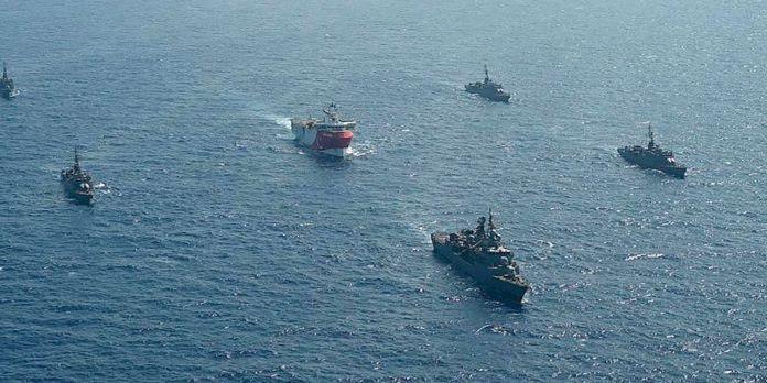 Greek And Turkish Frigates Collide In Eastern Mediterranean