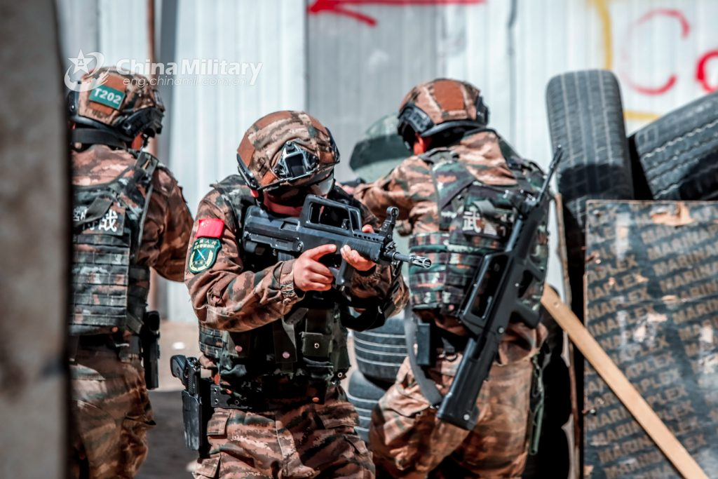 New Models Of Small Arms Of Chinese Special Forces