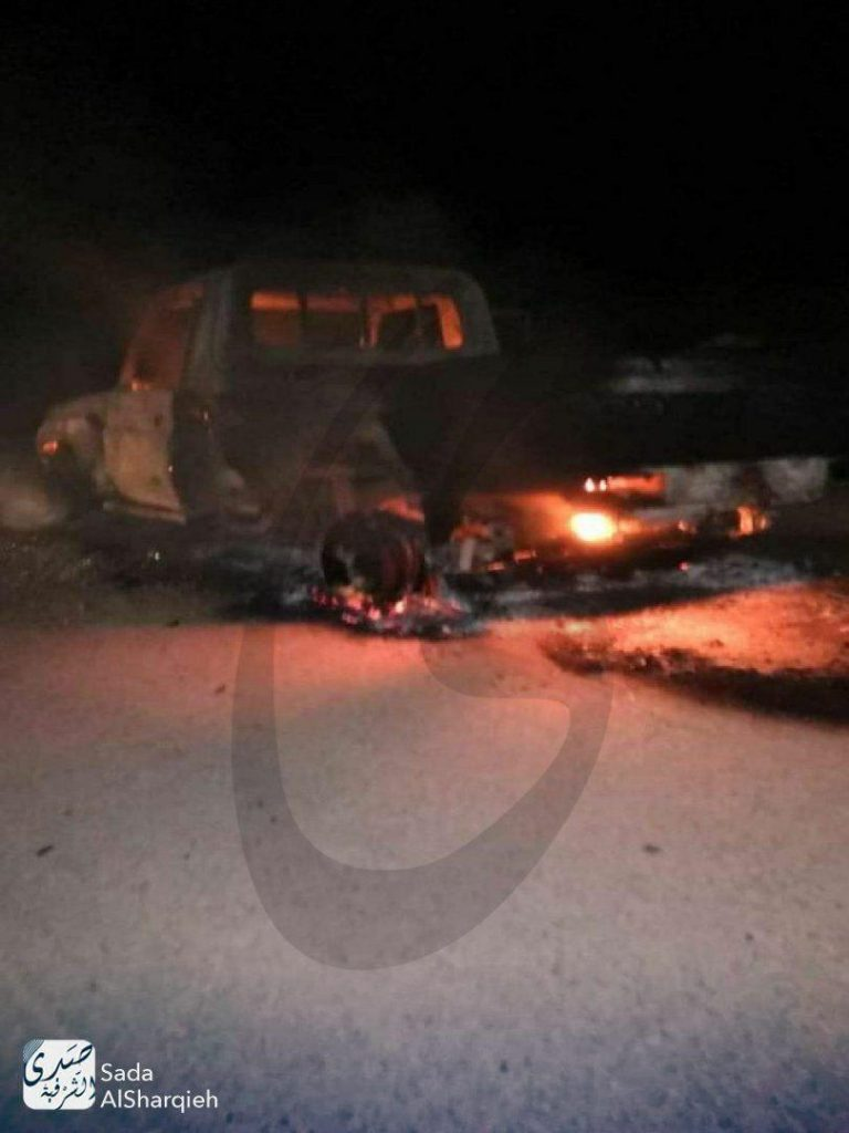 Car Bomb Exploded Near Turkish Observation Post At Syria's Jisr al-Shughur