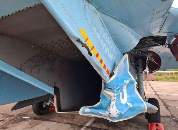 Ukrainian Su-27 Fighter Jet Hits Road Sign During Highway Landing Drills (Videos, Photo)