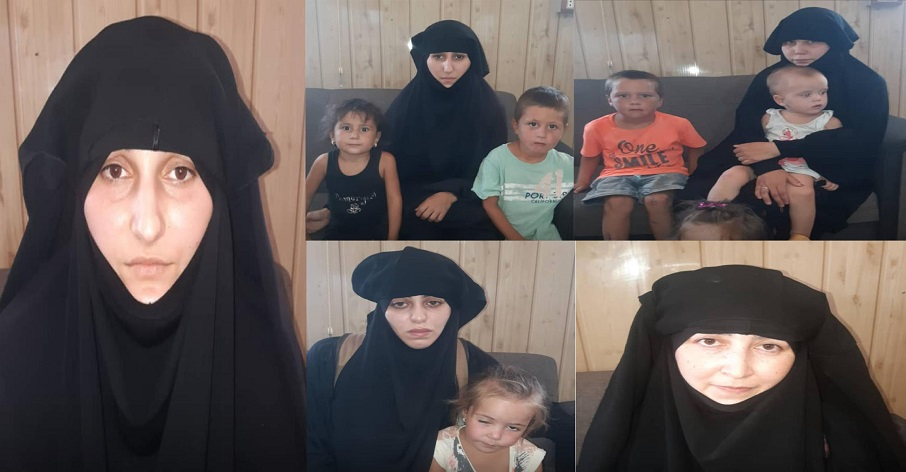 SDF Foiled Turkish Plot To Smuggle Russian ISIS Wives From Al-Hawl Camp