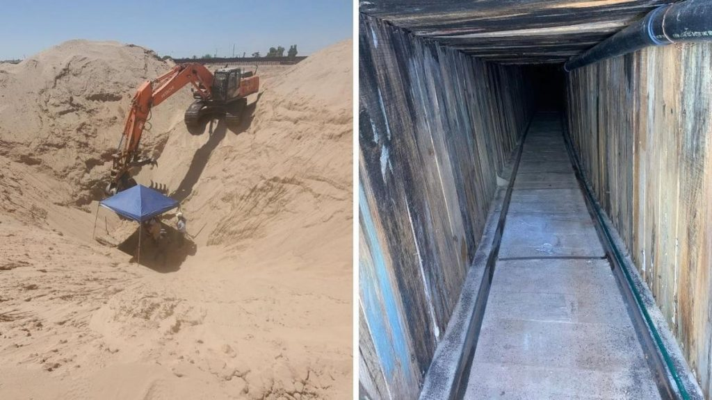 "Feds Uncover ""Most Sophisticated Tunnel In US History"" Along Southern Border"