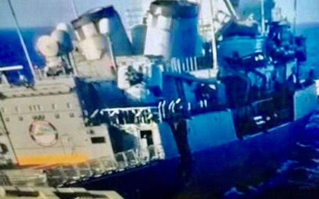 In Photos: Turkish Frigate Damaged After Collision With Greek Warship In Eastern Mediterranean