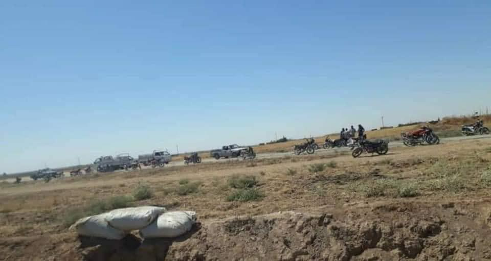 US Attack Helicopter Struck Positions Of Syrian Army In Al-Hasakah Province (Photos)
