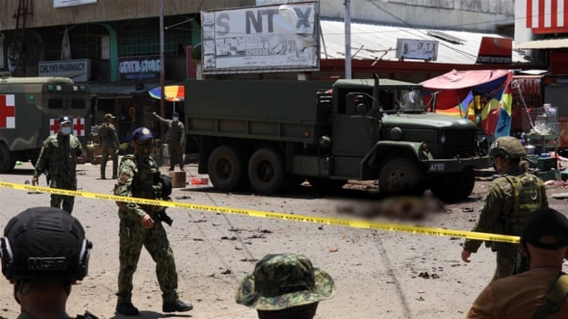 Two Terror Attacks In Philippines Leave At Least 14 Dead, 75 Wounded