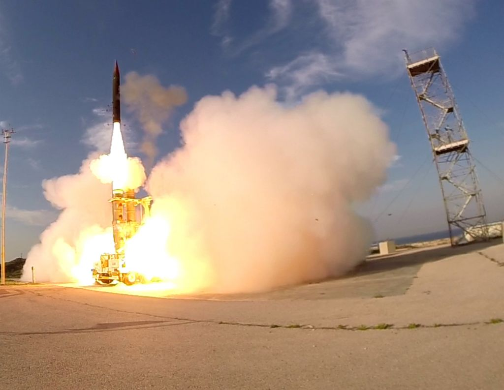Israel Successfully Tested Arrow-2 Advanced Defense System Against Ballistic Missiles