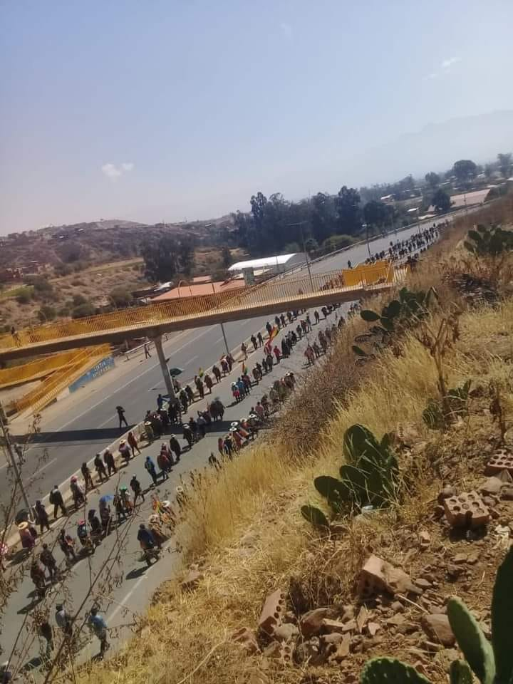 Bolivia: Post-Coup Regime Offered Dialogue, No Agreement Reached, Nationwide Blockade To Continue