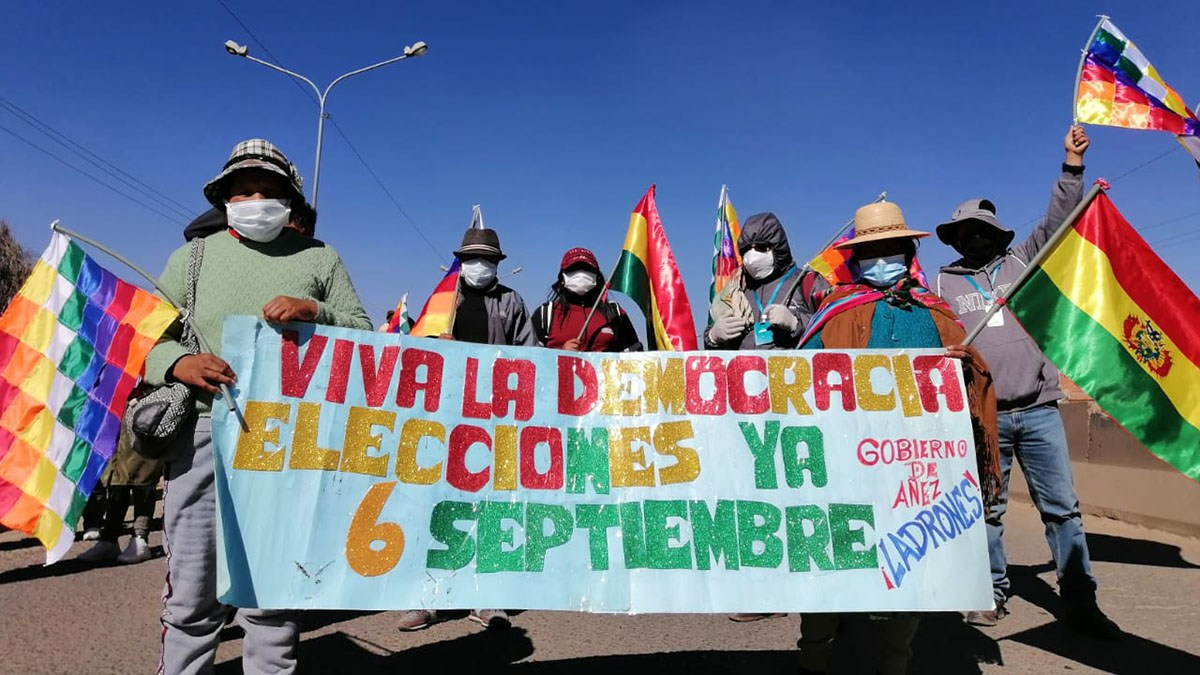 Bolivia: Social Movements Prepare For Major Confrontation With Post-Coup Regime, National Blockade Starts Monday