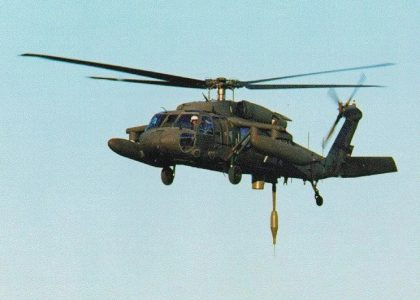 First Photograph Ever Of Stealthy Black Hawk Helicopter Surfaces Online