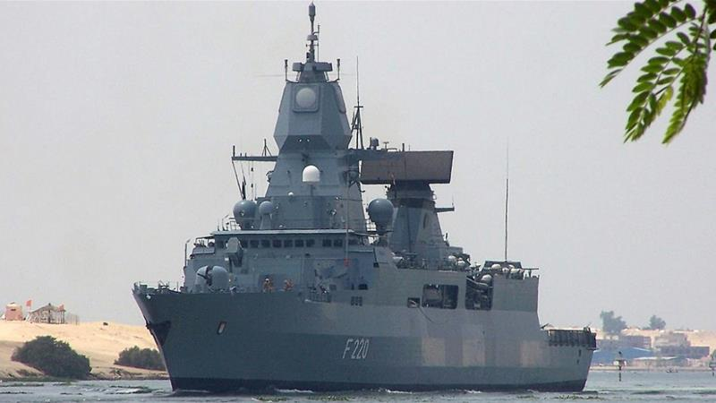 German Frigate To Join EU Mission Monitoring UN Arms Embargo On Libya