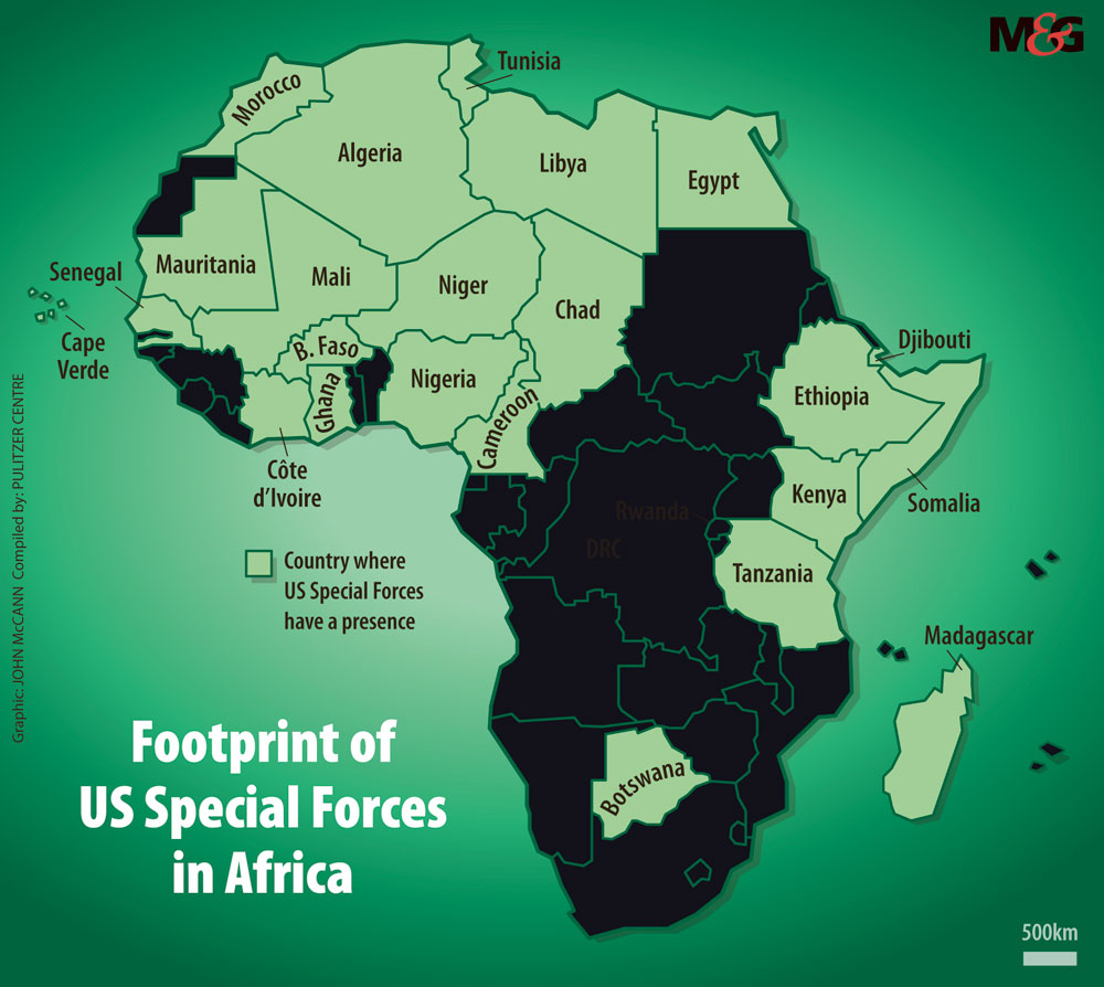 More Details Emerge Of US Military Operations In Africa