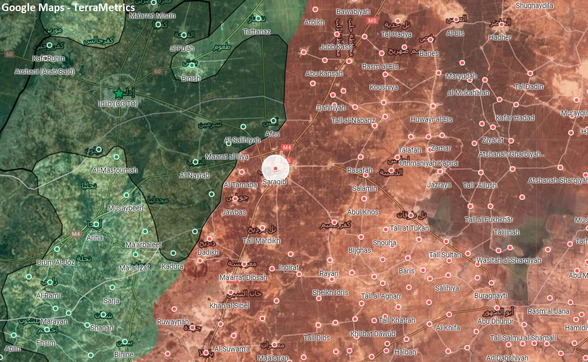 Greater Idlib Militants Are Preparing A Major Attack On Government-Held Saraqib – Report