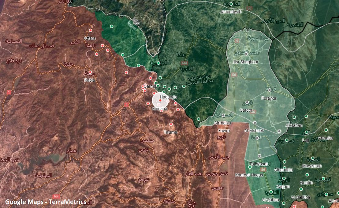 Turkish Army Established Forward Post In Northern Lattakia To Stop Syrian Army