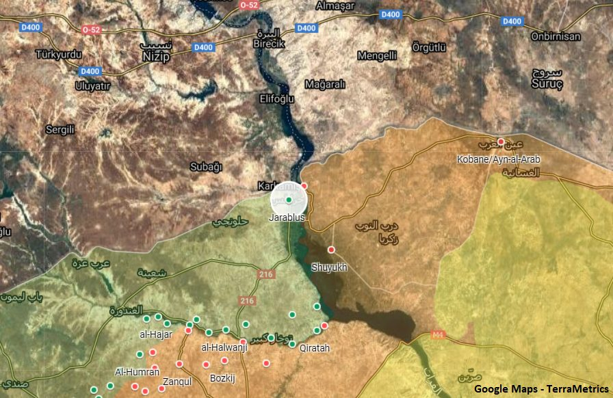Pro-Kurdish Fighters In Jarabulus Were Disclosed