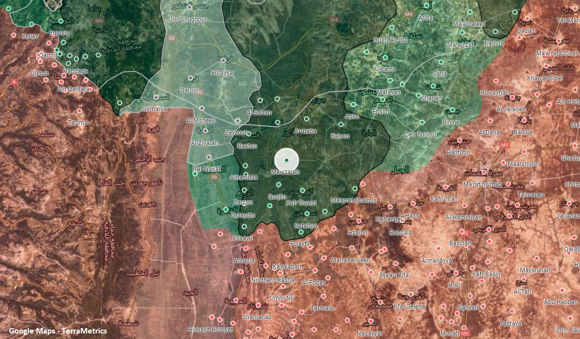Syrian Army Shelled Militant Positions In Southern Idlib With 'Heavy Rockets'