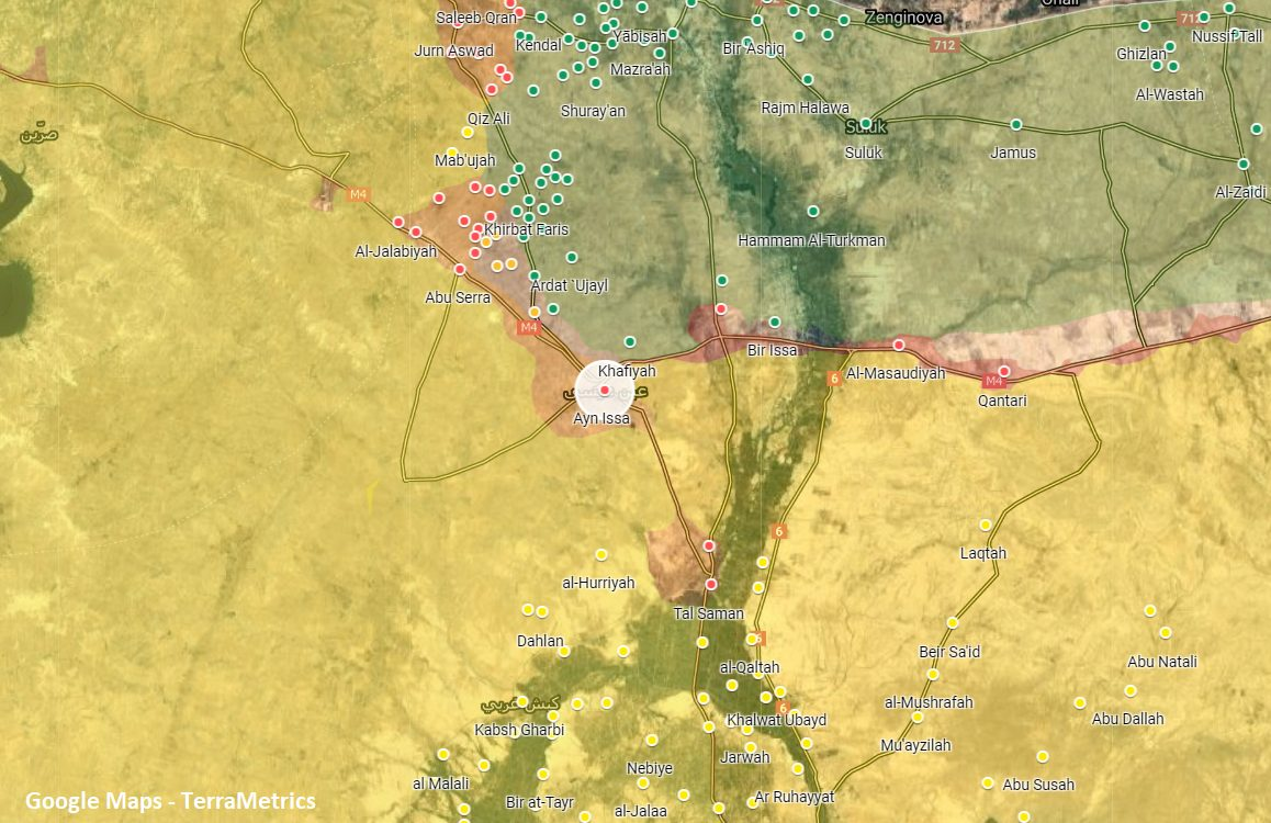 Kurdish Forces Sustained Losses In New Round Of Turkish Shelling In Northern Raqqa