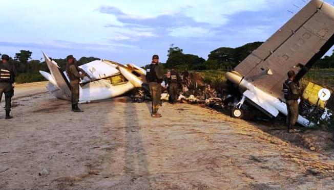 Supposed Drug Plane Crashed During Failed Attempt To Escape From Venezuelan Fighter Jets (Videos, Photos)
