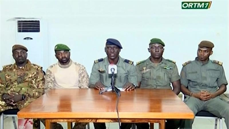 """Military Junta In Mali Promises """"Stability"""" As President Gives Up Power"""