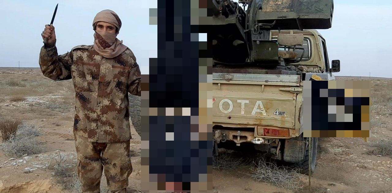 ISIS Terrorists Slaughtered Syrian Civilian, Solider In Eastern Homs (Photos)